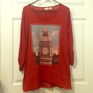 Big Ben 3/4 Sleeve Top